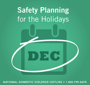 safety planning for holidays